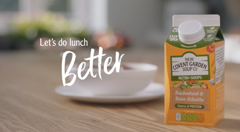 New Covent Garden Soup - Let's Lunch Better campaign