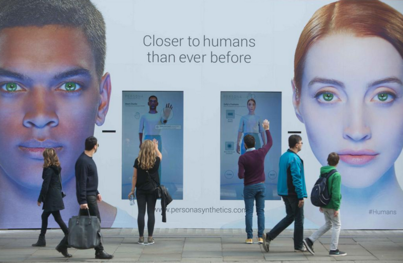 Humans - Persona Synthetics campaign