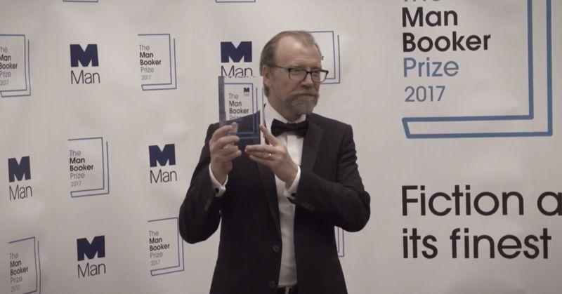 Man Booker Prize 2017 - Winner ceremony