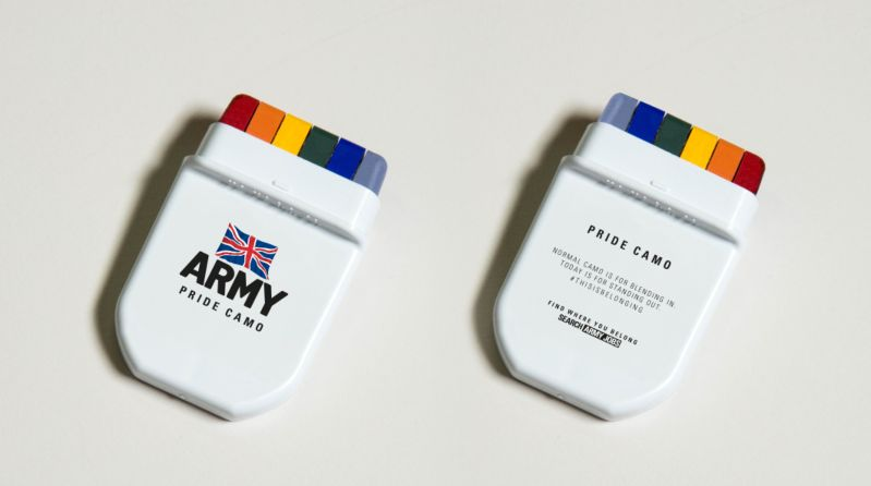 The Army Pride Camo Cream