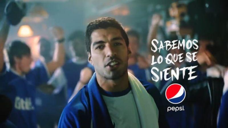Pepsi - Suárez