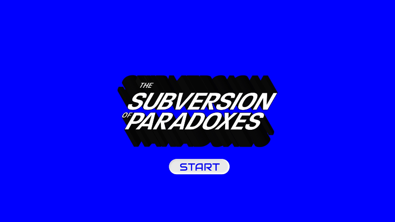 IAM Weekend 18: The Subversion of Paradoxes - get tickets here.