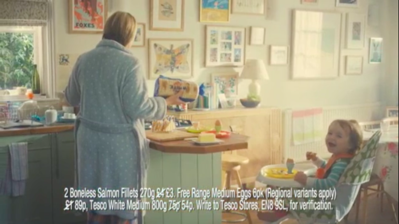 Tesco mad mum TVC