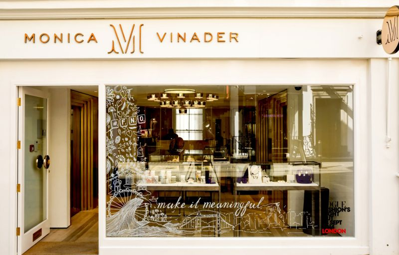 Monica Vinader x Vogue | Doodle Takeover