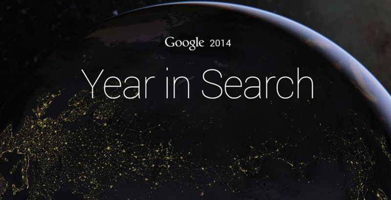 Google - Year In Search