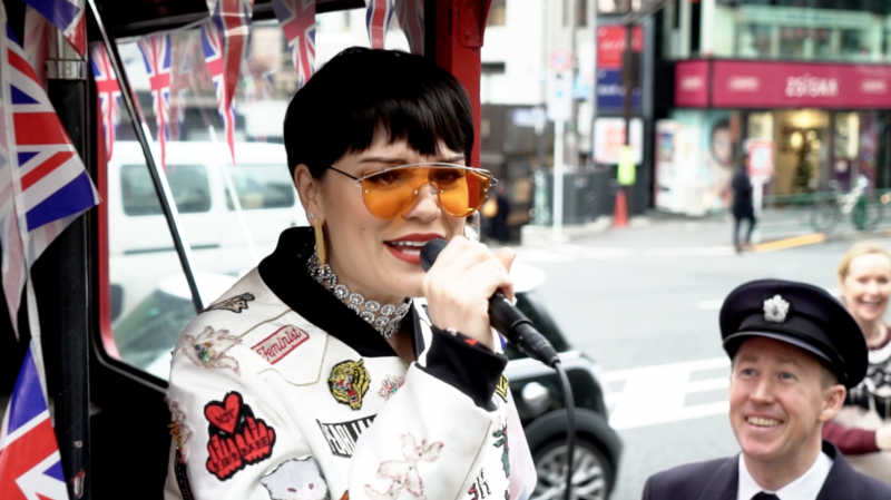 British Airways- Jessie J brings London to Tokyo
