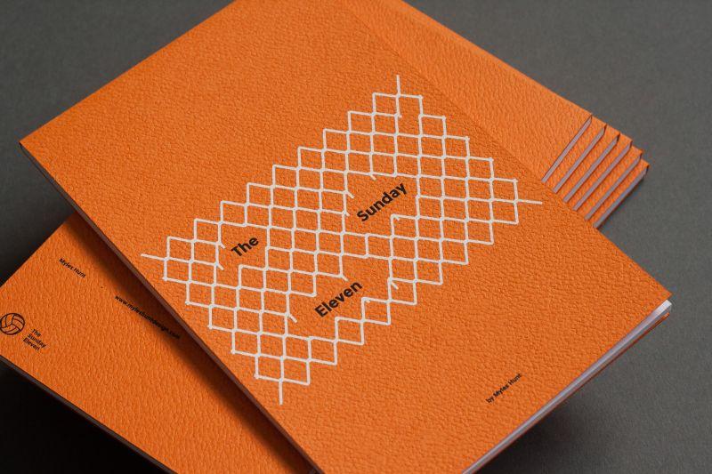 A6 Postcard book. Screen print + Debossing