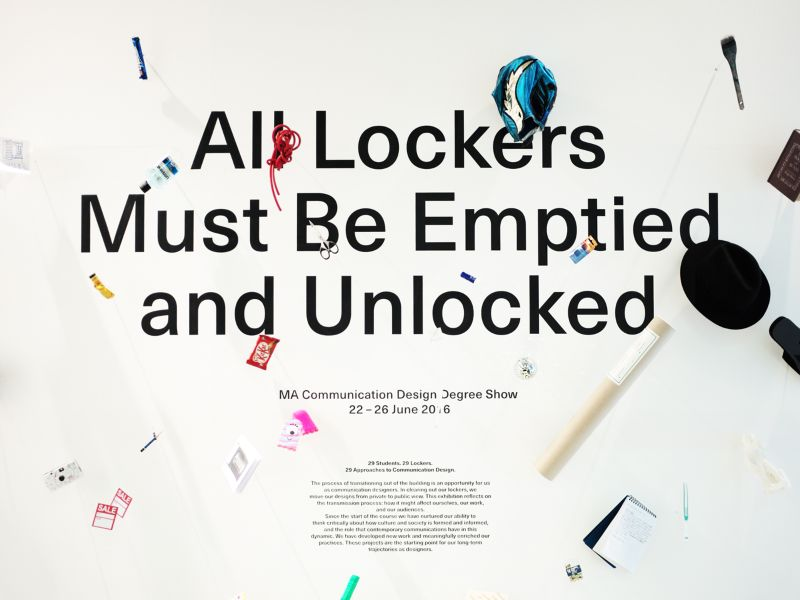 All Lockers Must Be Emptied and Unlocked