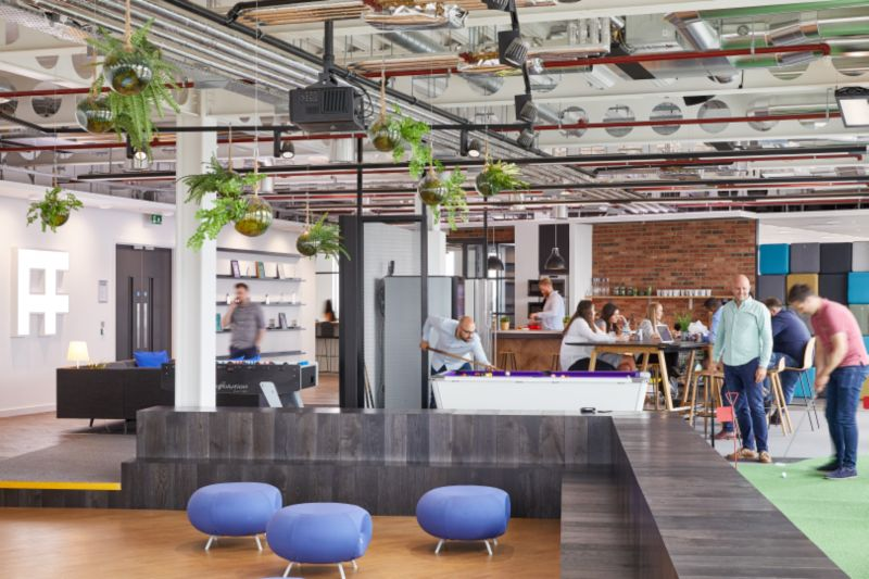 VIDEO: The unveiling of a brand new office design