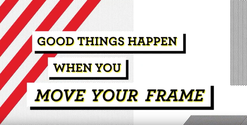 Campaign video - Good things happen when you move your frame