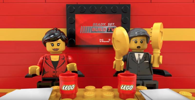 Shell LEGO Ferrari Partnership
