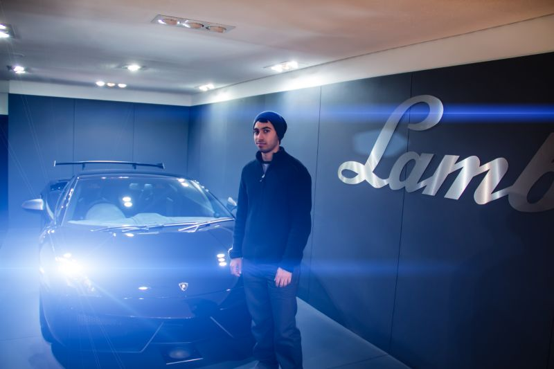 Lamborghini London Visit