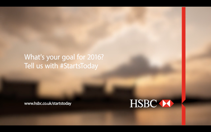 HSBC UK – #STARTSTODAY CAMPAIGN VIDEO