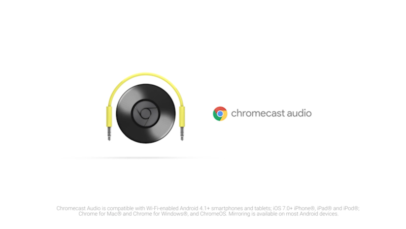 Google ChromeCastAudio #CastYourSound x 3