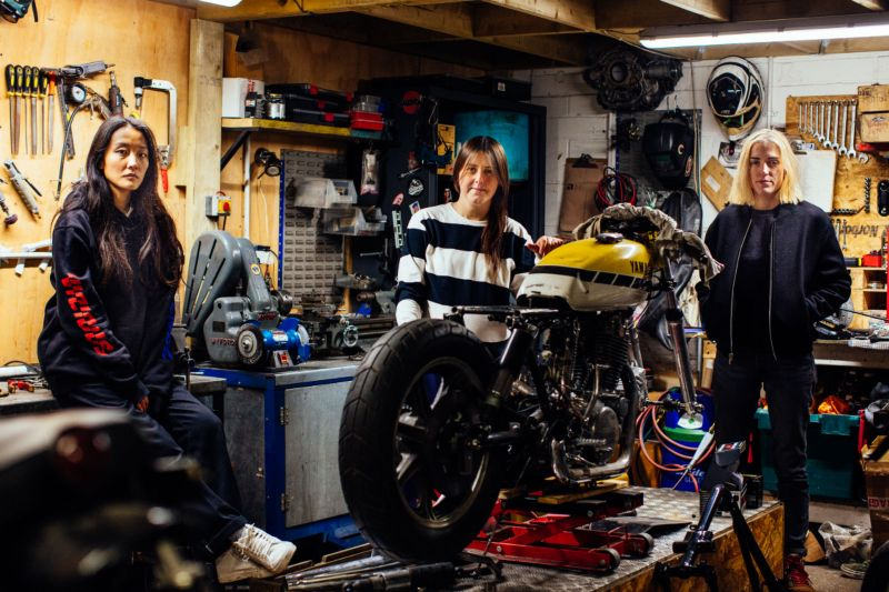 Inside VC London, the city's inspirational all-women biker collective - Red Bull UK