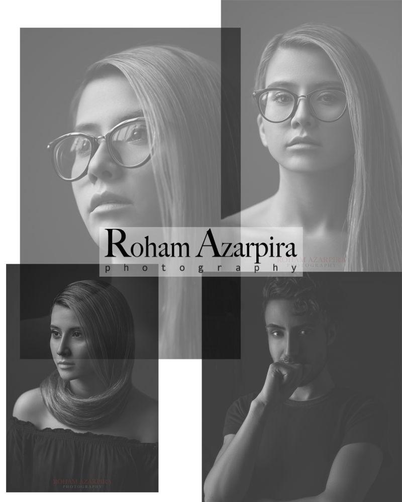 Roham Azarpira portrait photography   with : Mahsa Aslansefat