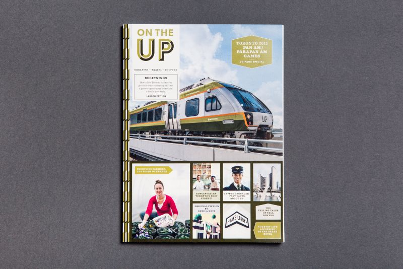 UP Express onboard magazine