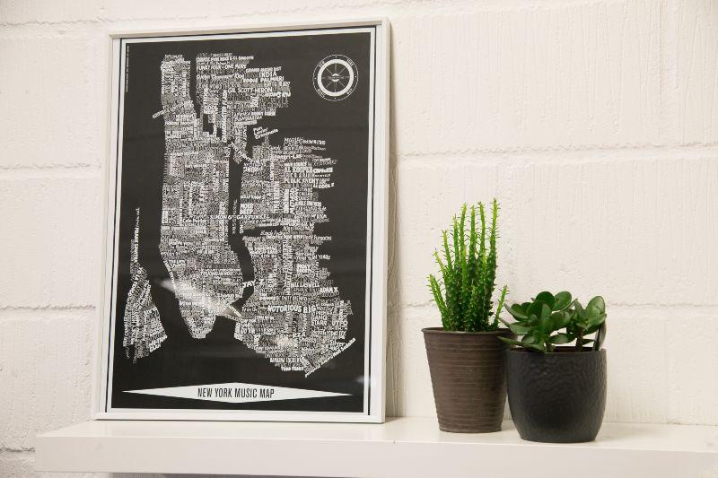 New York Music Map