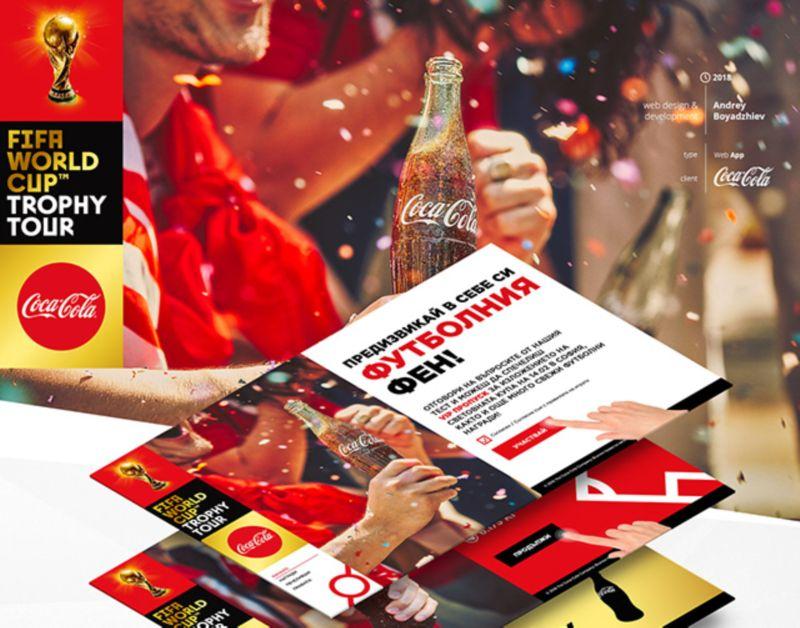 FIFA World Cup™ Trophy Tour - Coca Col- Web App