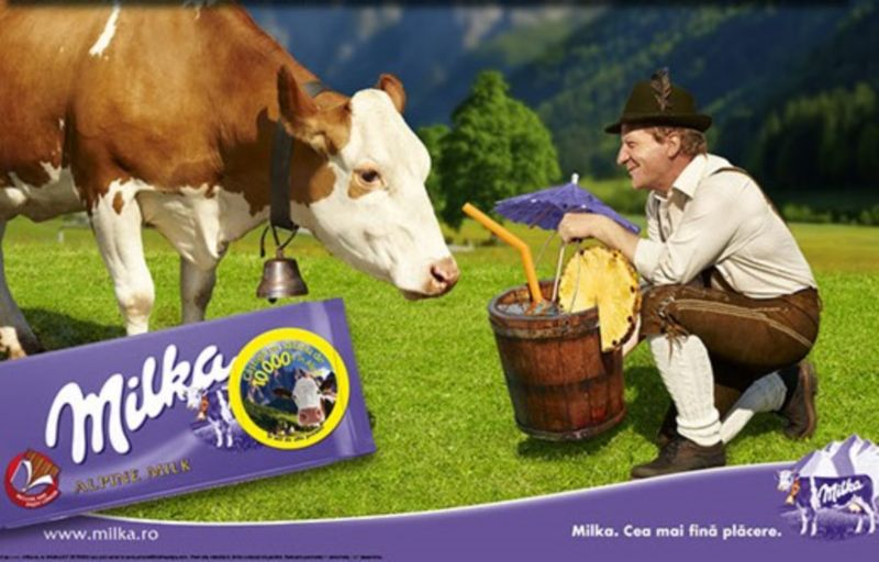 Cow Entertainers - Milka Campaign - Silver EFFIE 2011