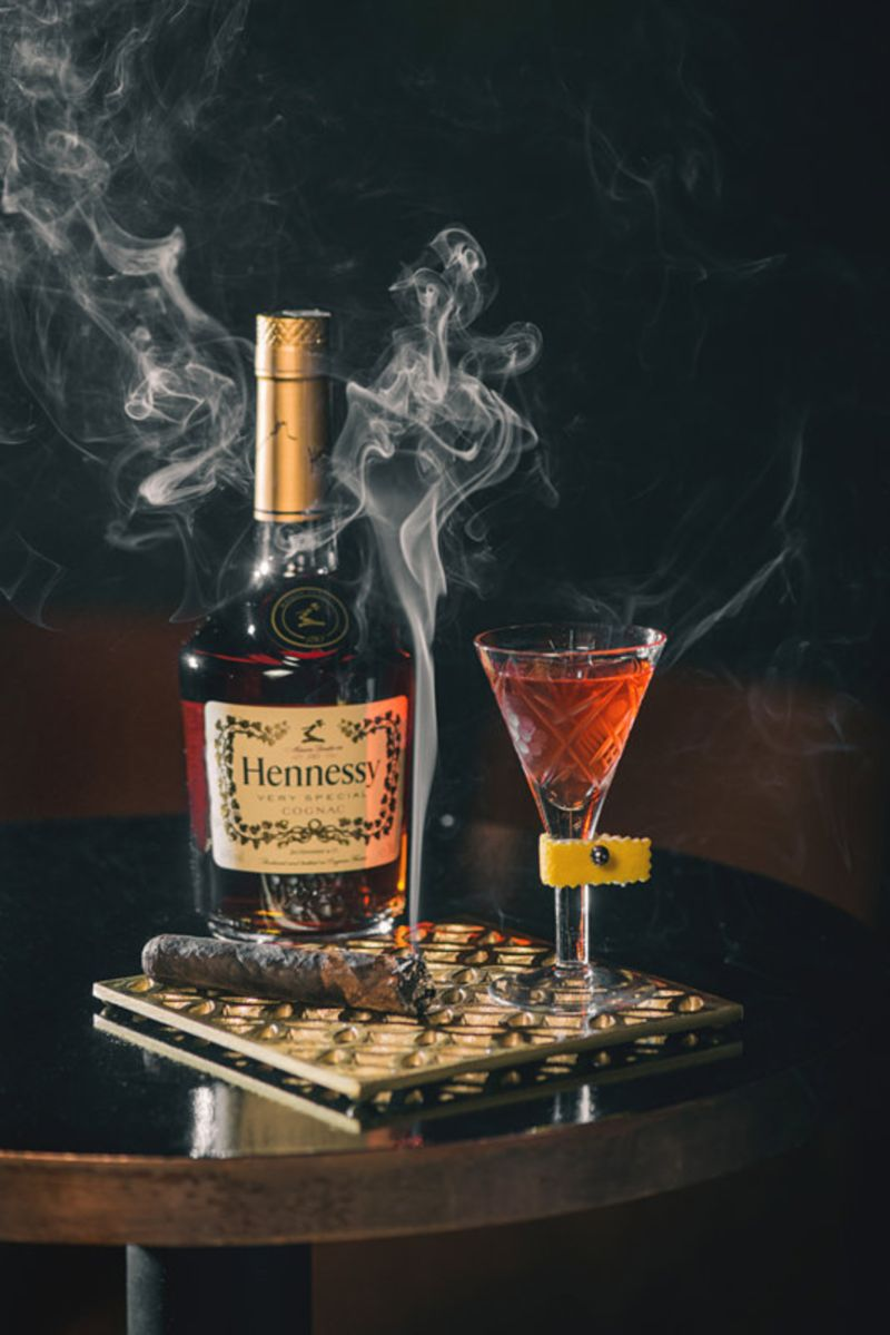 Hennessy Cocktail Photography
