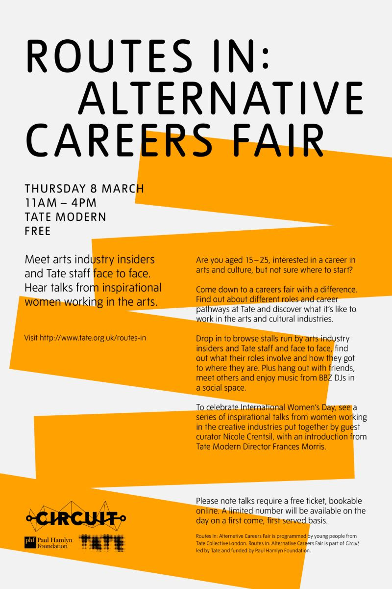 Routes In: Alternative Careers Fair