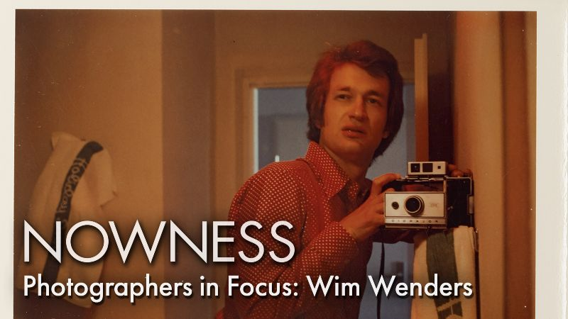 Photographers in Focus: Wim Wenders