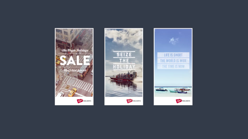 Virgin Holidays: Online Display