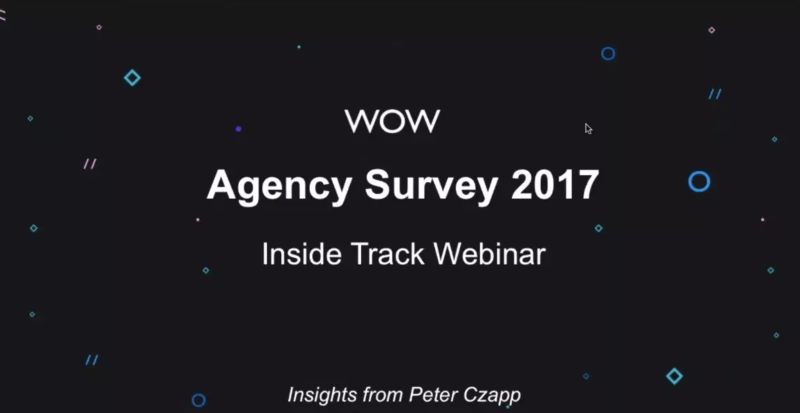 The Inside Track on Agency Benchmarking 2017