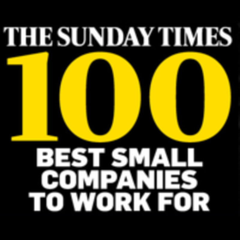 The Sunday Times Best Small Companies to Work For 2015 + 16