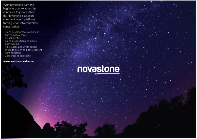 Novastone Branding and Collateral Design