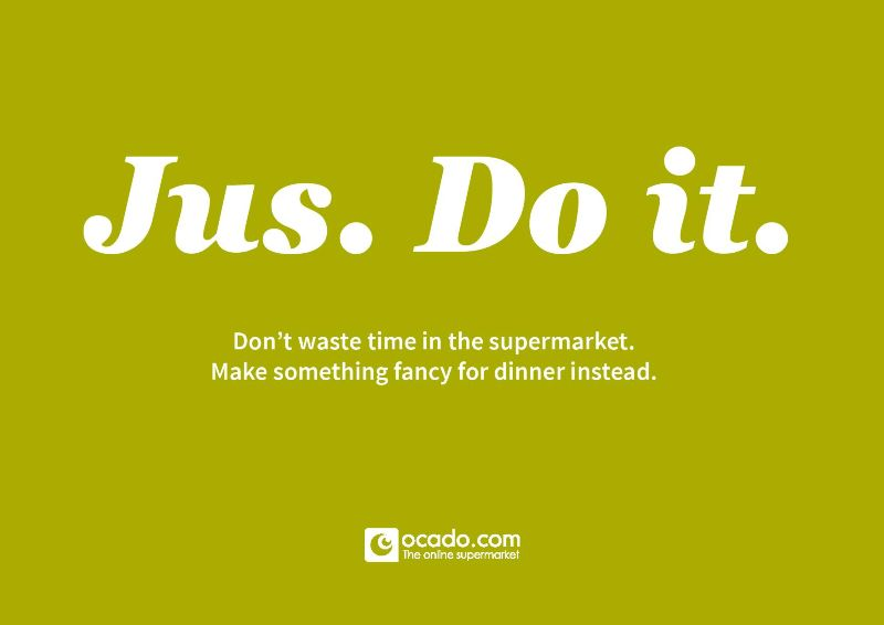 Jus. Do it.