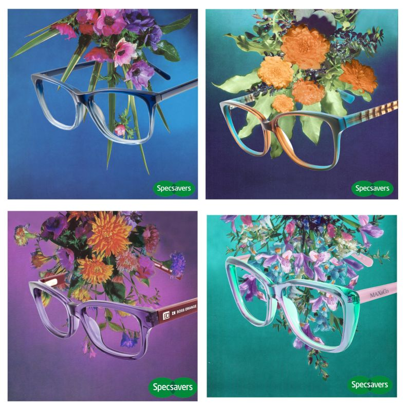 Spacsavers Glasses - Spring Collection