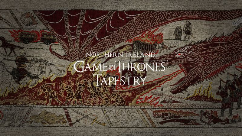 Tourism Ireland Game of Thrones Tapestry