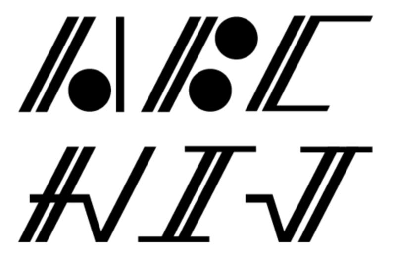 Mathematics typeface