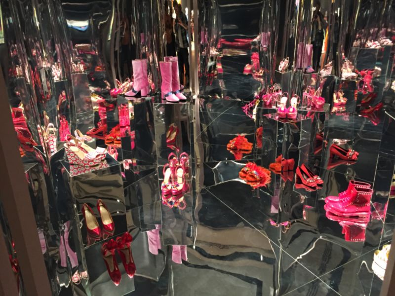 Christie's Lates / The Outnet Mirror Room