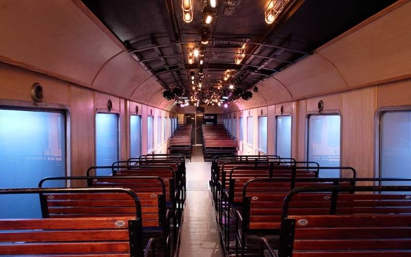 This Theatre in Athens is Built Inside a Refurbished Vintage Train