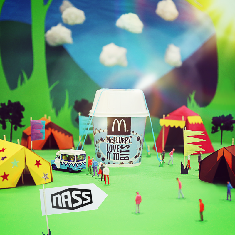 McDONALDS SOCIAL ANIMATION