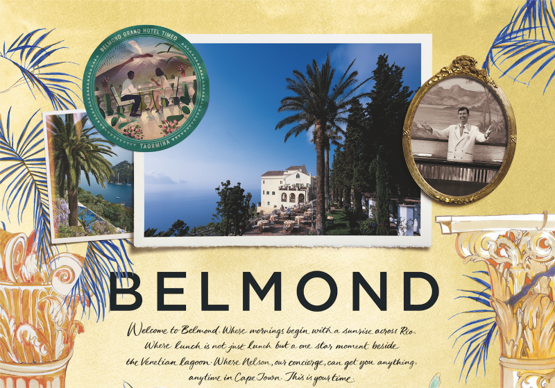 The Art Of Belmond (Outdoor, Print + Digital)