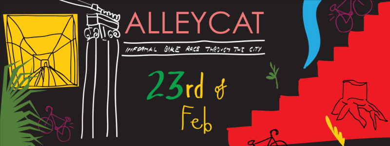 Know Your City Alleycat Poster and Identity