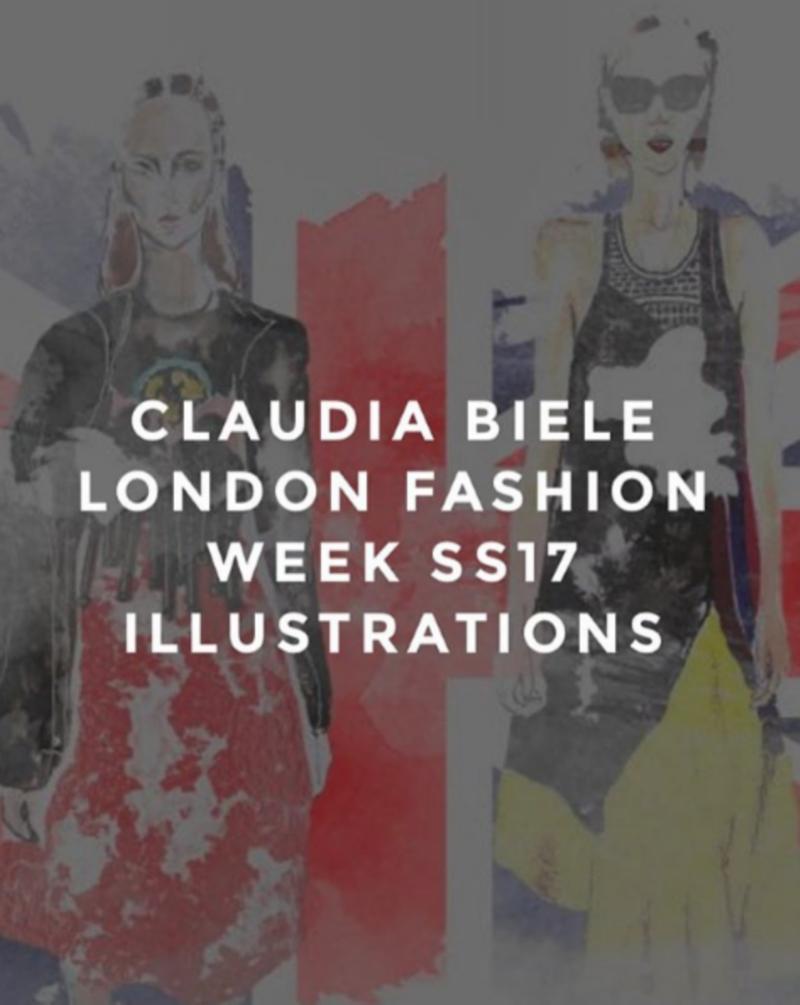 Fashion week illustrations for NoName magazine
