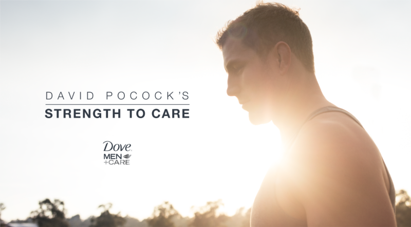 The Strength to Care. Dove Men+Care.