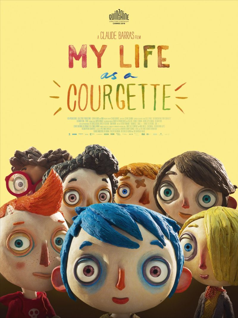 My life as a courgette