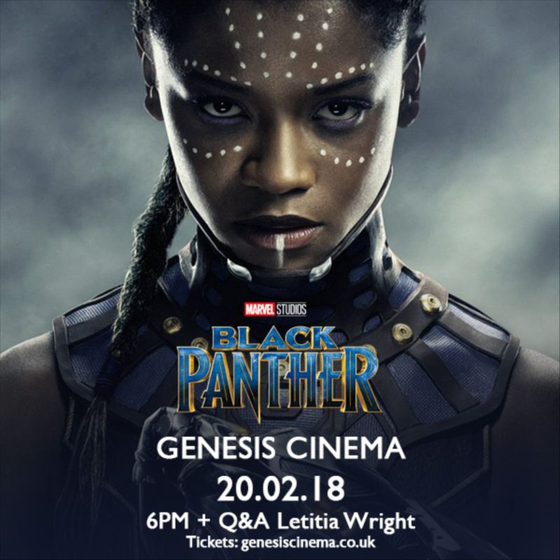 Black Panther Letitia Wright Q&A