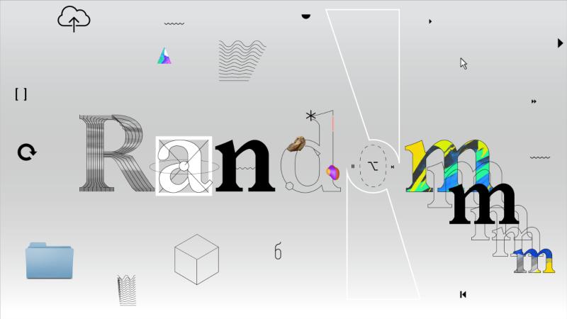 Random Studio branding animations