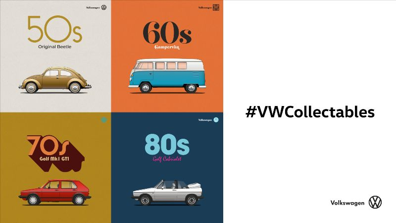 #VWCollectables - Volkswagen's Iconic car heritage story