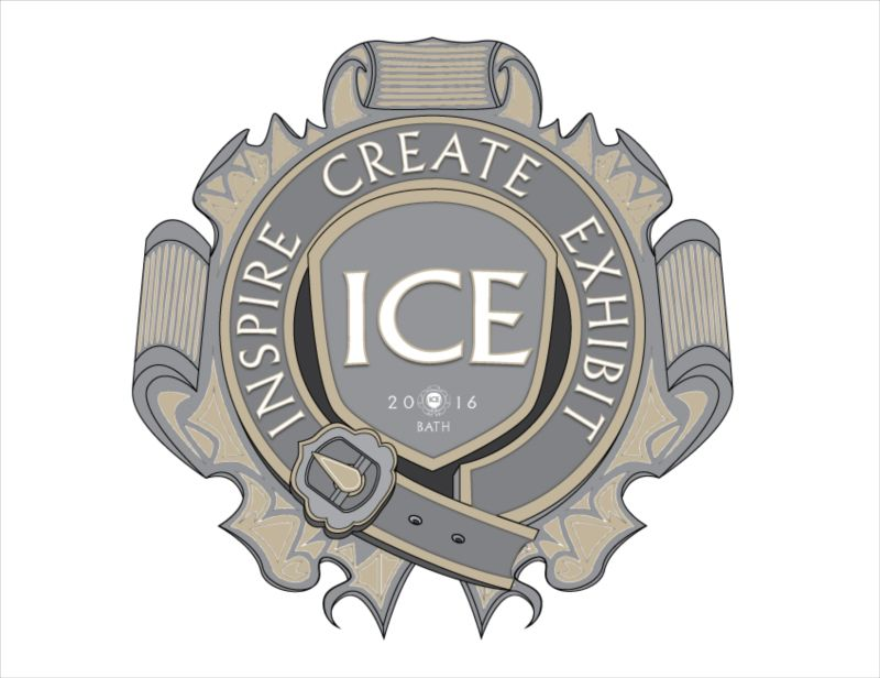 I.C.E. Artist Gallery & Workshop, Bath - Logo Development / Identity