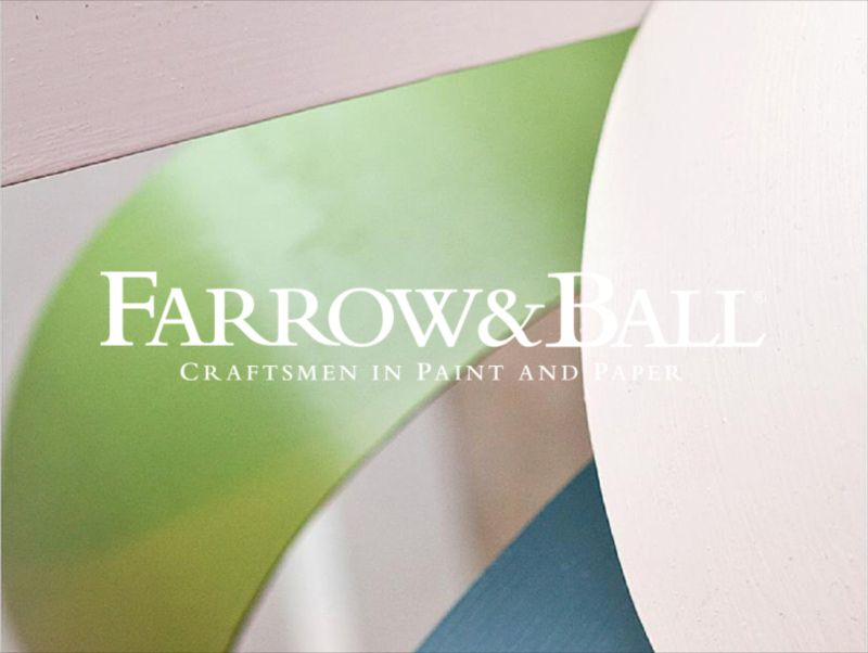 Farrow & Ball Windows Display