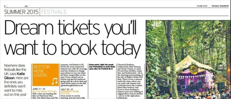 Daily Telegraph - summer supplement