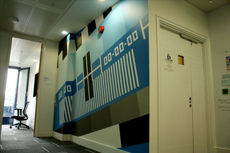 YouView Test Pattern Mural